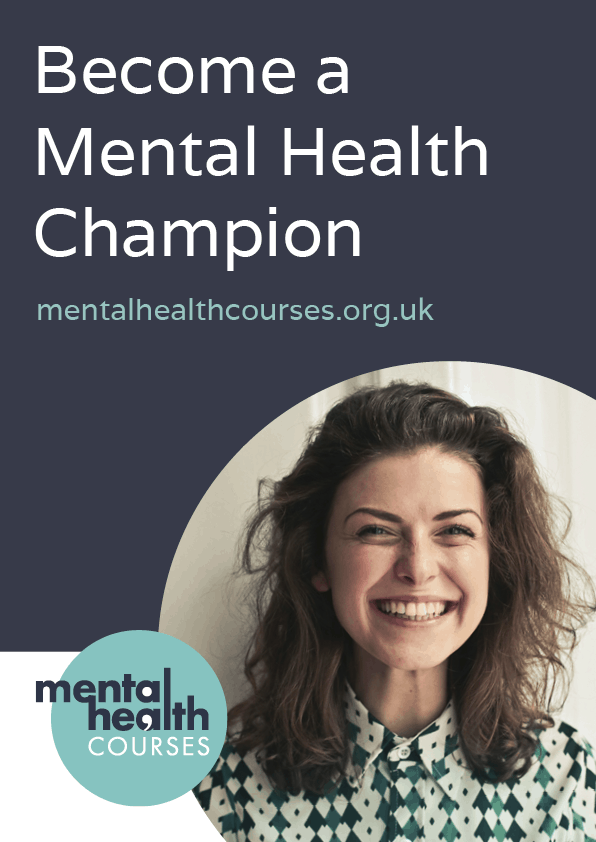 Become a Mental Health Champion Poster